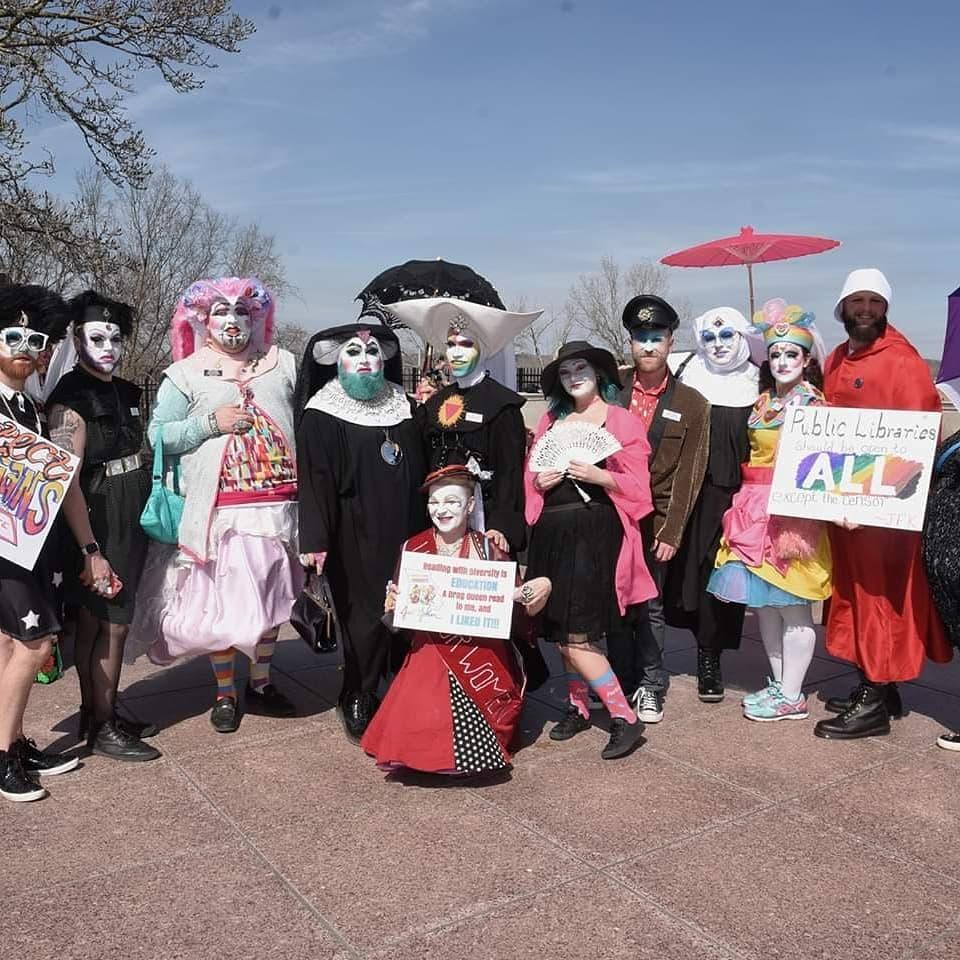 Drag Story Time Legislation Protest in Jefferson City